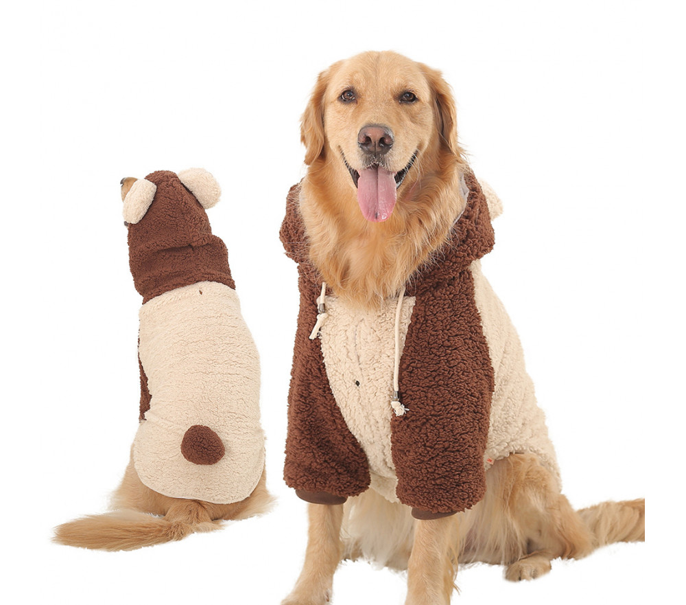 Dog Winter Coat Bear Costume Coats for Large Dogs