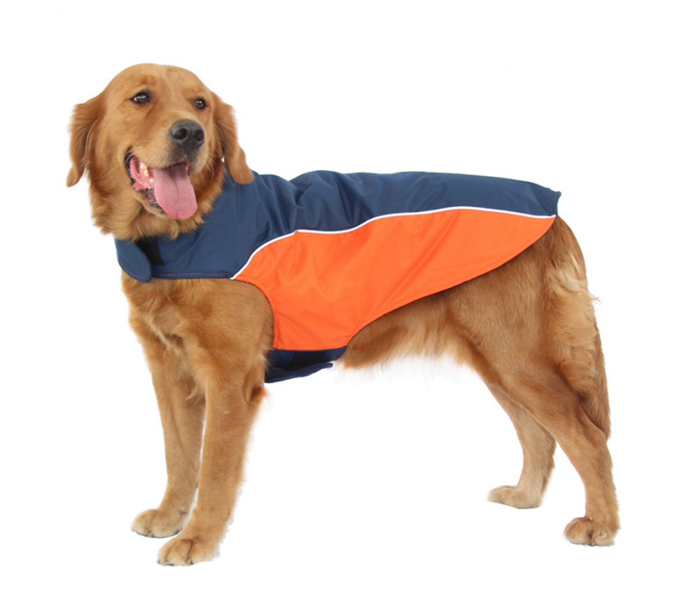 Dog Coat Snow Waterproof Fleece-lined Winter Jacket