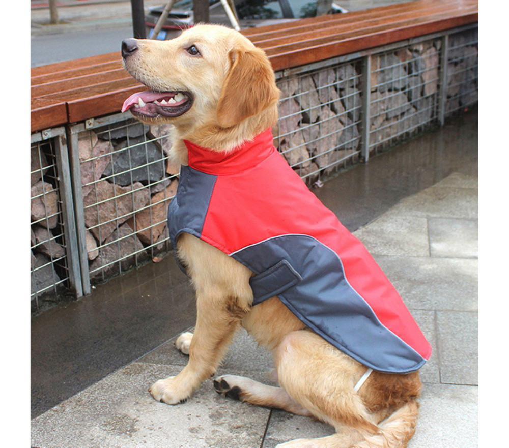 Large Dog Coats for Winter Waterproof with Harness Slot