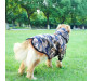 Winter Dog Coat with Hood Zippered Large Dogs Jackets