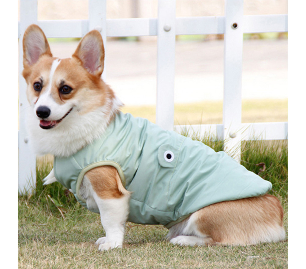 Waterproof Puffer Vest Coat for Medium Dogs
