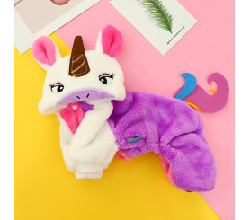 Unicorn Coat for Dog Autumn and Winter