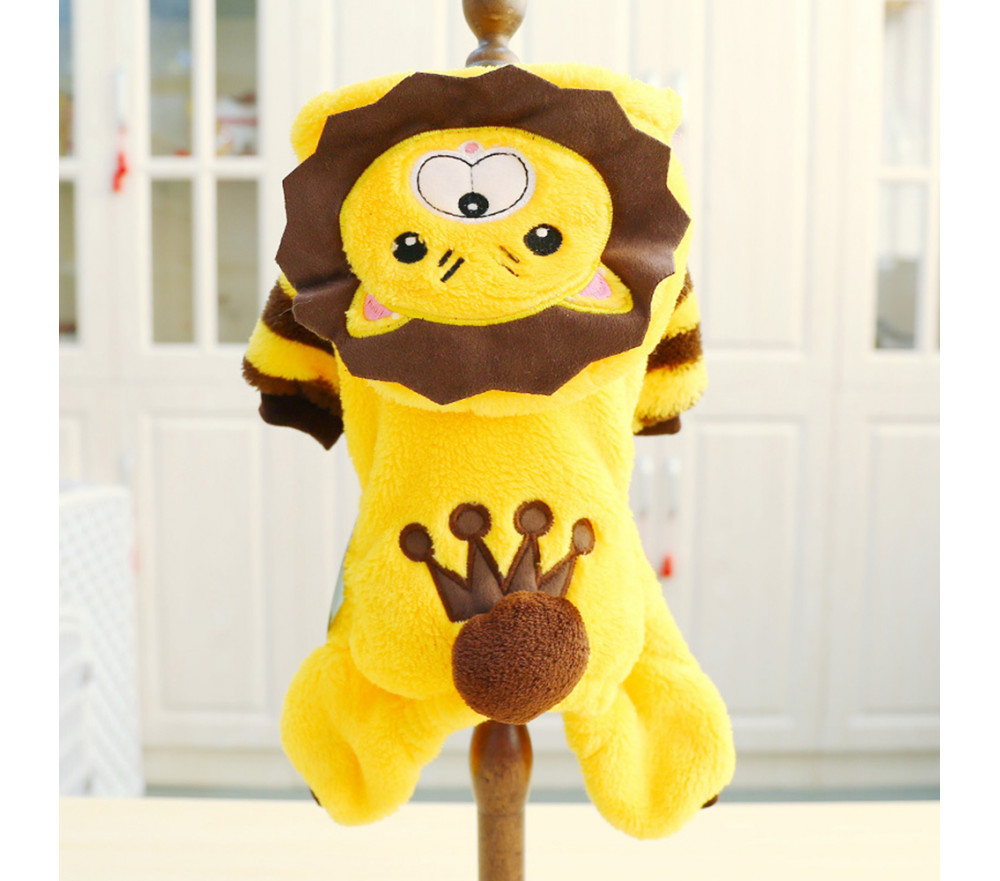 Lion Coat for Small Dog
