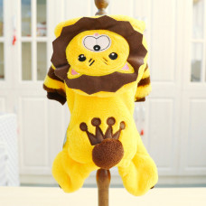 Lion Costume for Small Dog