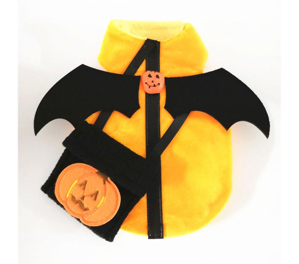 Pumpkin Dog Coat for Halloween