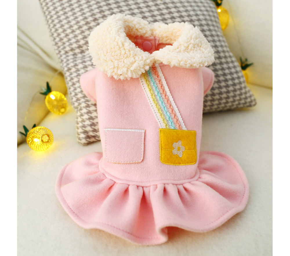 Winter Dog Dresses for Small Dogs Yorkie Shih Tzu Special Sale