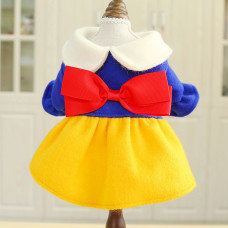 Snow White Costume Dog Dress for Small Dogs