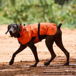 Large Dog Raincoat Lightweight Waterproof Dog Rain Jacket With Harness Hole