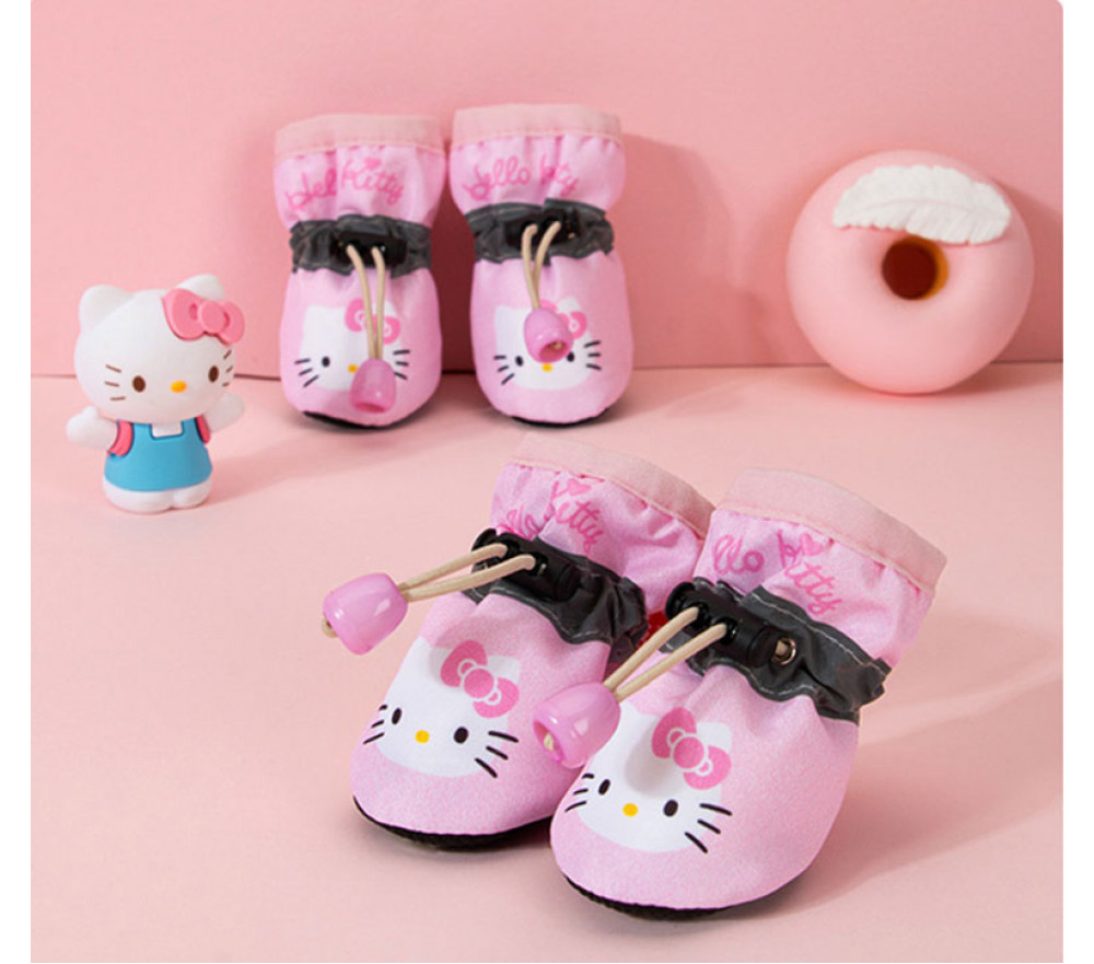 Hello Kitty Breathable Non-slip Shoes for Small Dogs