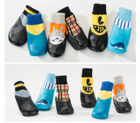 Waterproof Dog Socks Non-slip Dog Boots For Winter