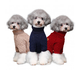 2-legged Turtleneck Sweater for Small Dogs