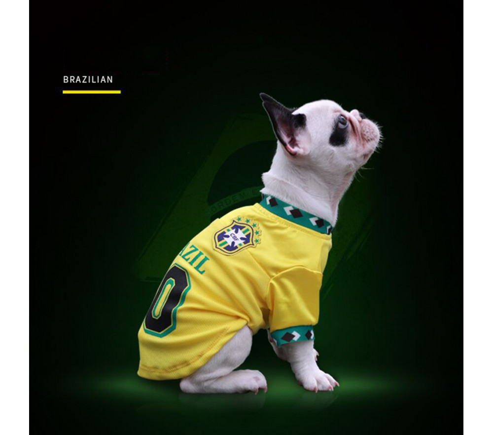 Soccer Jersey for Dogs Football Uniform