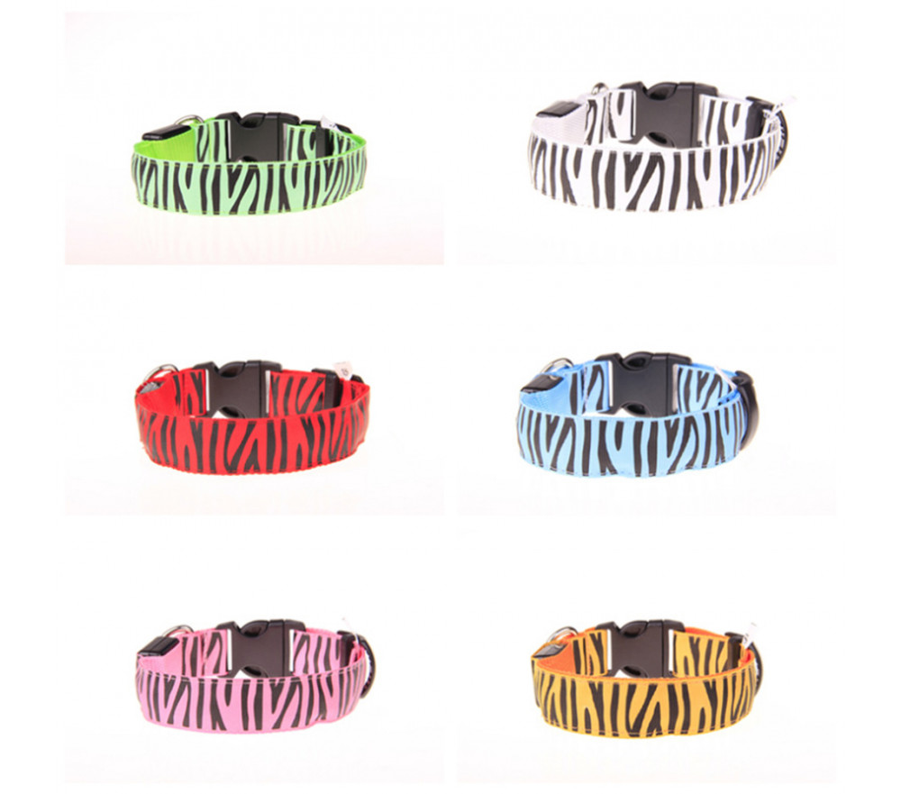 USB Rechargeable Light Up Dog Collar