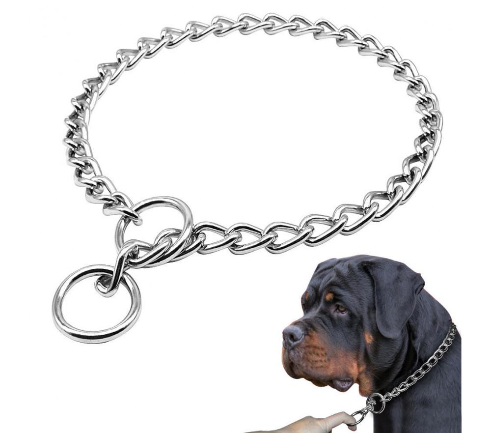 9mm Choke Chain Collar for Doberman