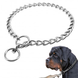 9mm Rottweiler Chain Collar Choke