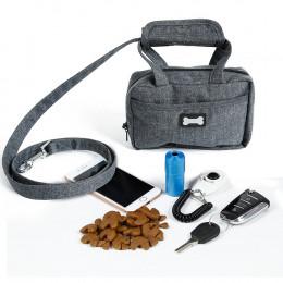 Dog Leash with Bag Dispenser
