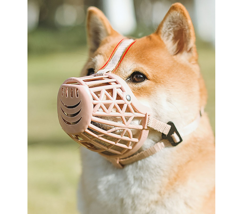 Breathable Basket Muzzles for Small Dogs