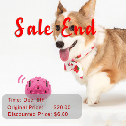 Automatic Moving Dog Ball Interactive Dog Toys Magic Roller Ball Toy Flash Sale
