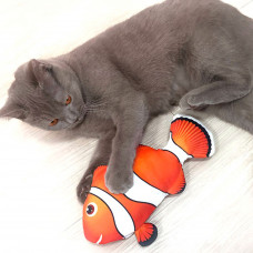 Electronic Fish Toy for Cats Catnip Kicker Fish Toy