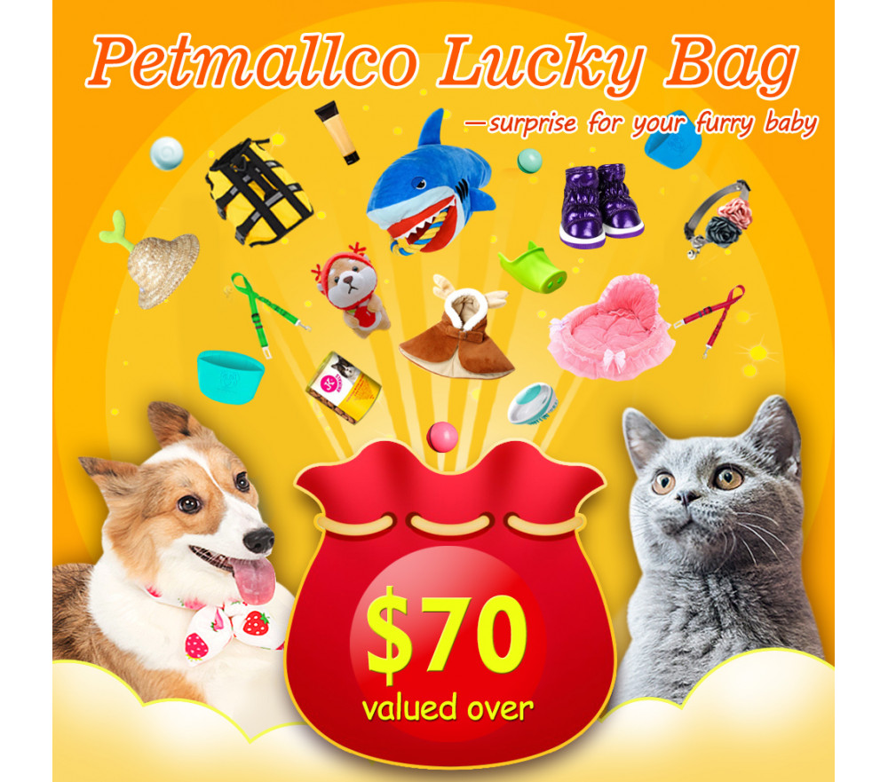 Petmallco Lucky Bag Valued Over $70