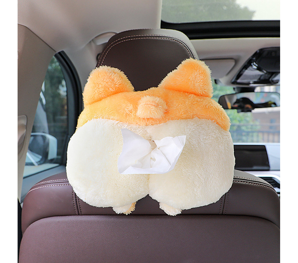 Animal Butt Car Tissue Holder