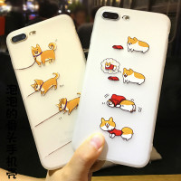 Phone Case for iPhone Corgi Shiba Inu