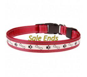 USB Light Up Dog Collar Flash Sale