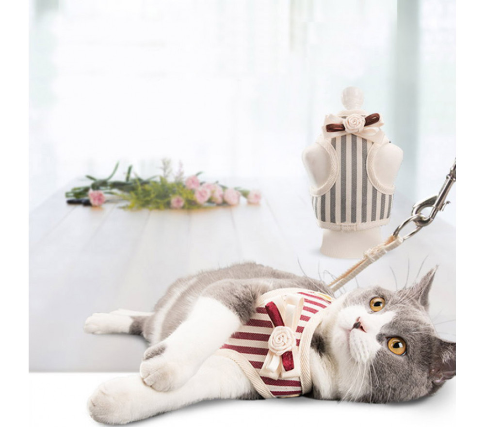 Cat/Dog Traction Rope Vest Style Anti-break Free Leash Rope