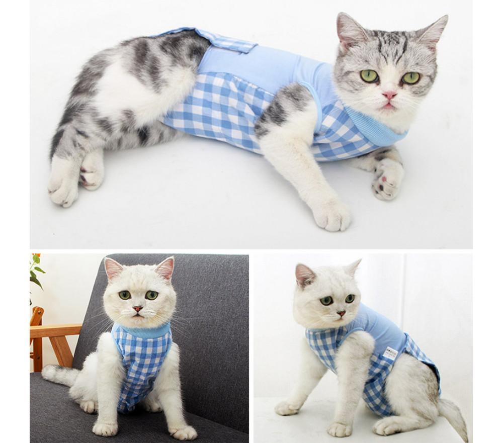 High Elastic Modal Cat Recovery Suit Cat Postoperative Wear