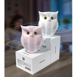 Owl Shape Dust Mites Removal Ultrasonic Mite Controller Anti-mites Device