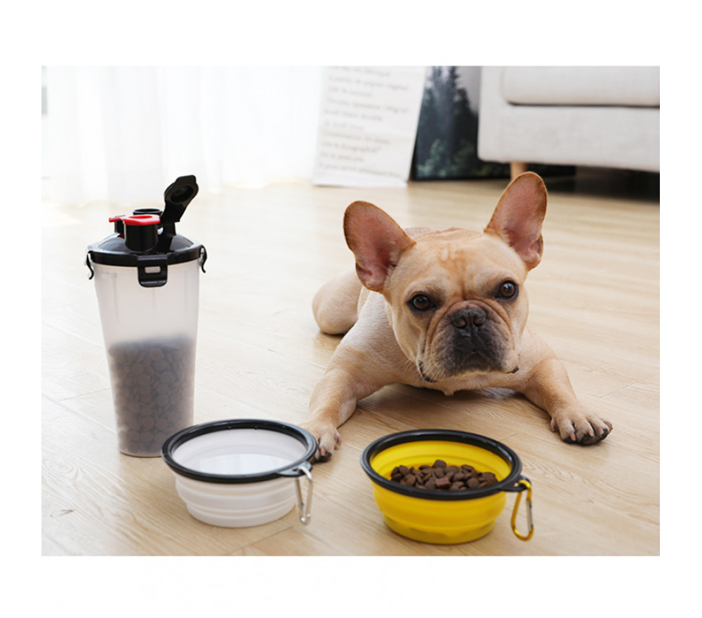 Portable Pet Food Water Bottle