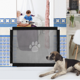 Indoor Mesh Dog Gate Portable Barrier Fence Baby Safe