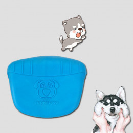 Dog Training Treat Pouch Natural Rubber Puppy Snack Bags