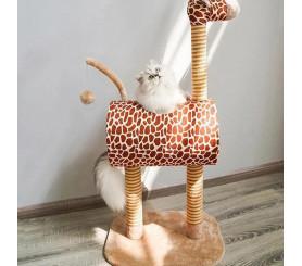 Giraffe Tall Cat Tree Tower Modern Cat Tree Condo