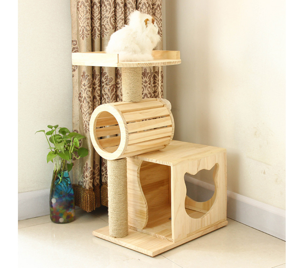 Cat Roller Condo Multi-layer Cat House Climbing Tower