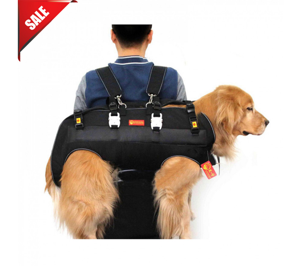 Large Dog Carrier Travel Hiking Carrying Harness Backpack