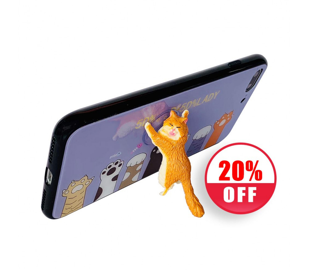 Cat Phone Stand Suction Cup