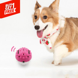 Jumping Activation Interactive Bouncy Bumble Dog Toy Ball Battery Operated