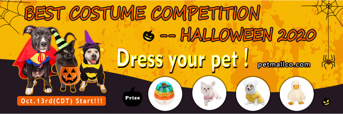 Petmallco Best Costume Competition
