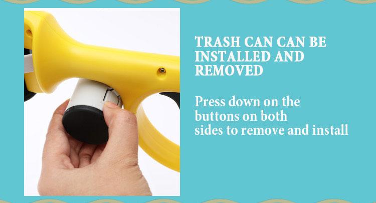 detachable poop bag dispenser