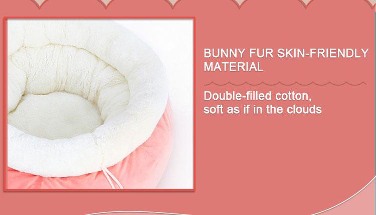 kawaii cat bed, cat snuggle bed