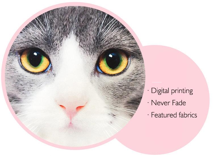 Digital printing, never fade, featured fabrics