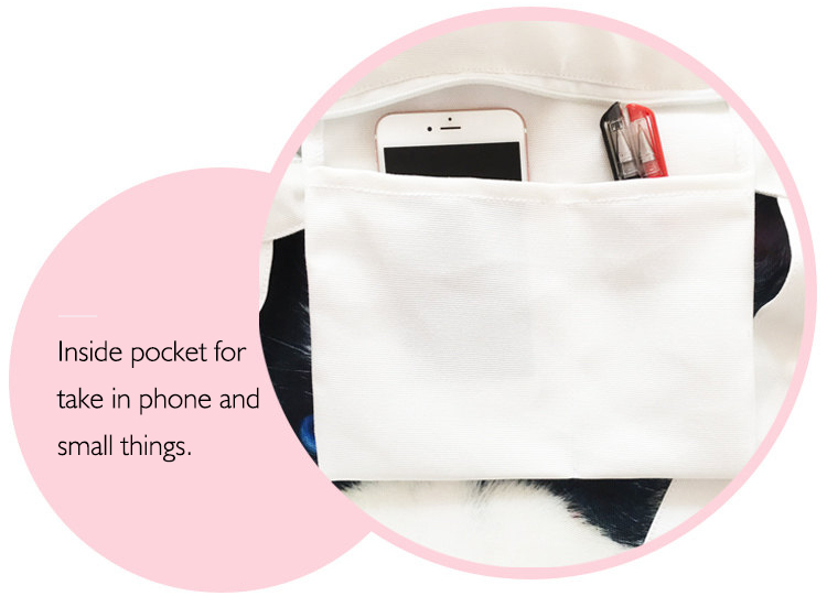 A inside pocket for carrying small things