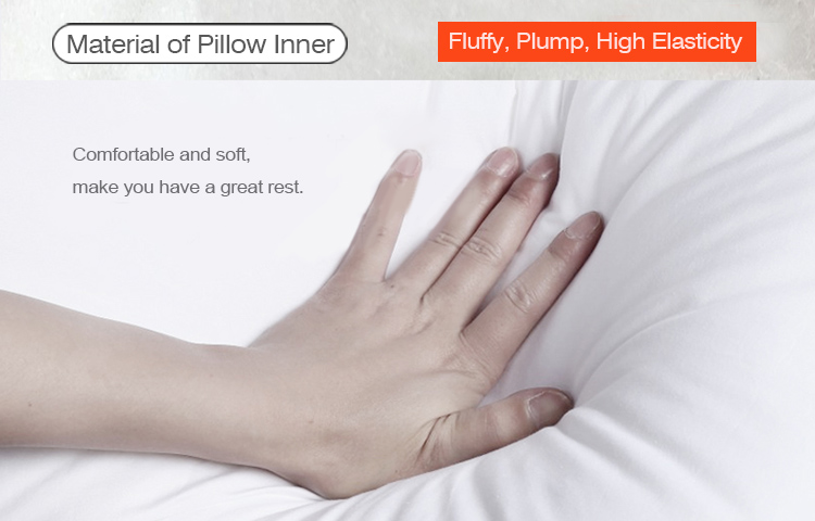 Material of Pillow Inner:Fluffy, high elasticity