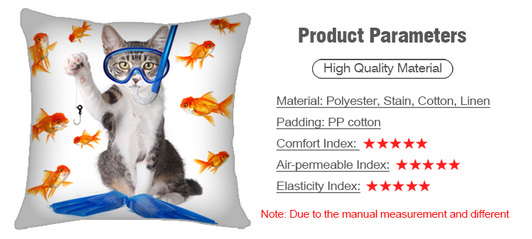 Custom Pet Pillow: Product Parameters