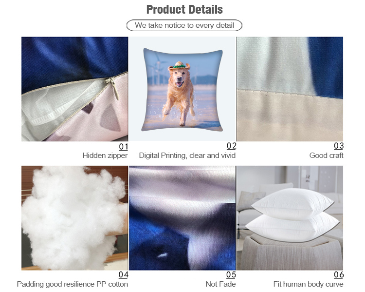 Product Details of Personalized dog pillows