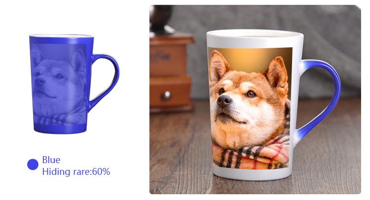 Heat Changing Mugs: Blue Mug