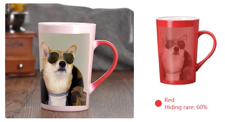 Heat Changing Mugs: Red Mug