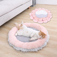 princess cat bed,cute cat beds, Pink Cat bed,princess dog bed