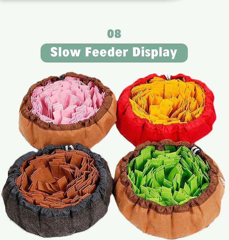 used as feeding bowl